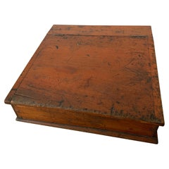American Rustic Lap Writing Desk Box