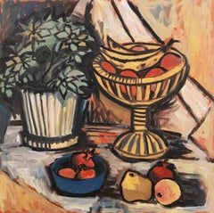 Modernist Still-Life   (style of German artist Max Beckmann)