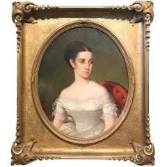Portrait of a Girl in the Manner of Thomas Sully
