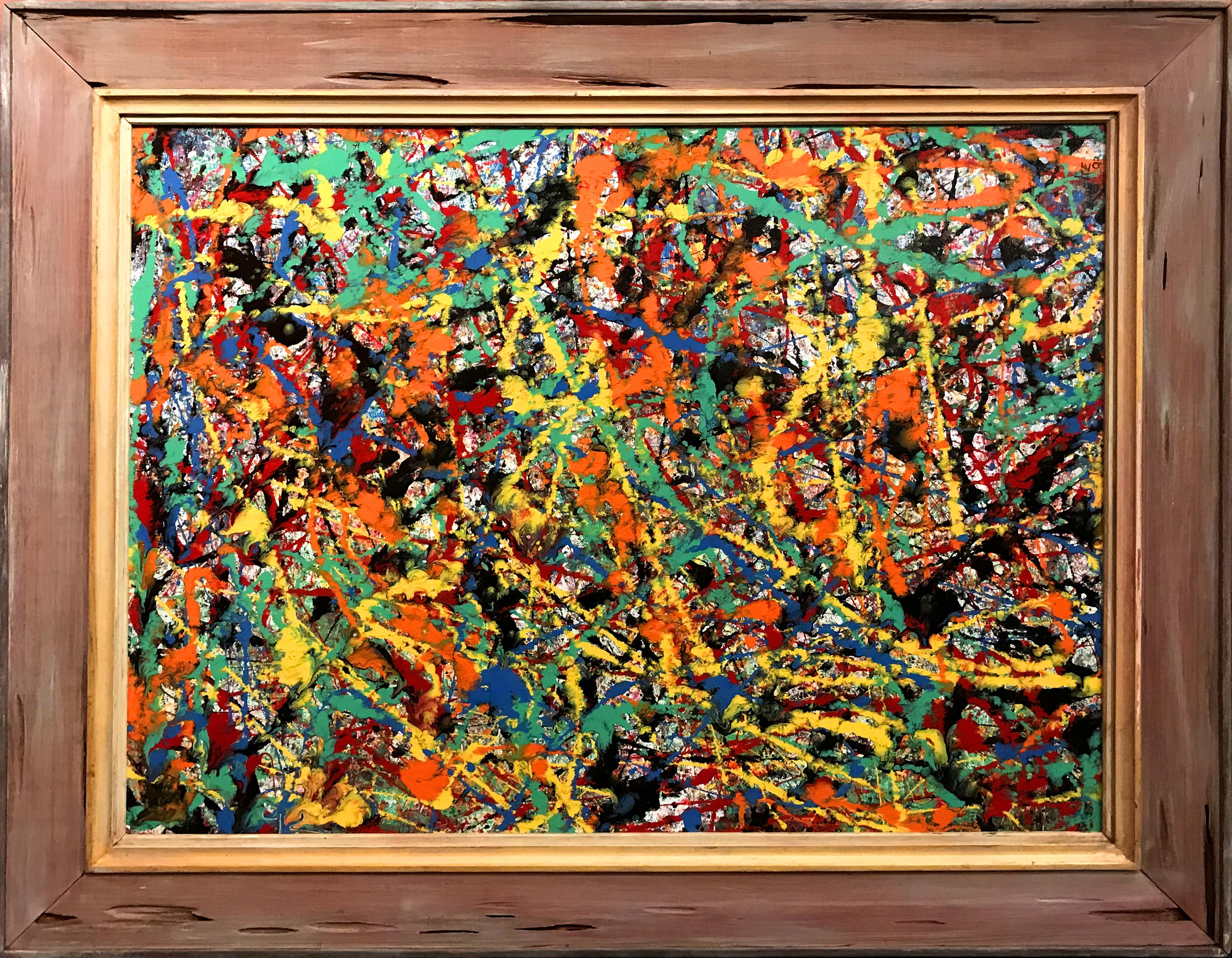 Modernist Abstract Expressionist Painting