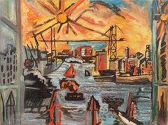 Modernist Industrial Dockside