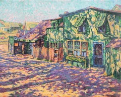 'Old Country Store, Ontario', Canada, Painters Eleven, Post-Impressionist Oil