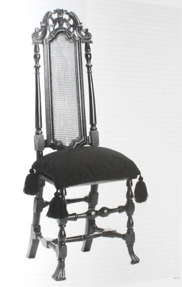 20th Century American Seating Furniture 1630-1730, First Edition For Sale