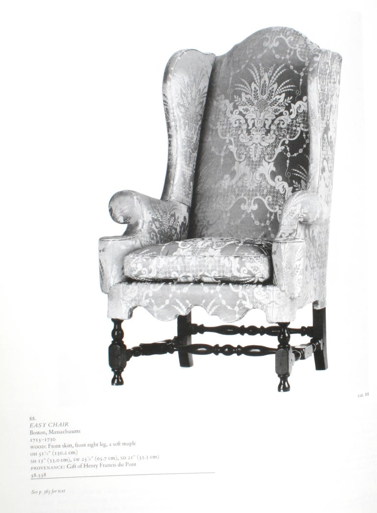 Paper American Seating Furniture 1630-1730, First Edition For Sale