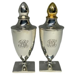 American Set of Sterling Salt and Pepper Shakers