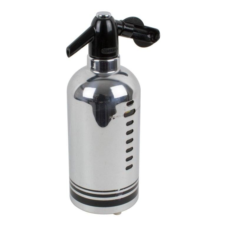 American Soda King 1950s Siphon Seltzer Water Bottle For Sale