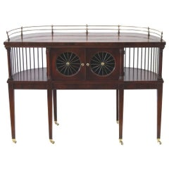 American Solid Mahogany Console Table