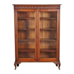 American Solid Oak Bookcase