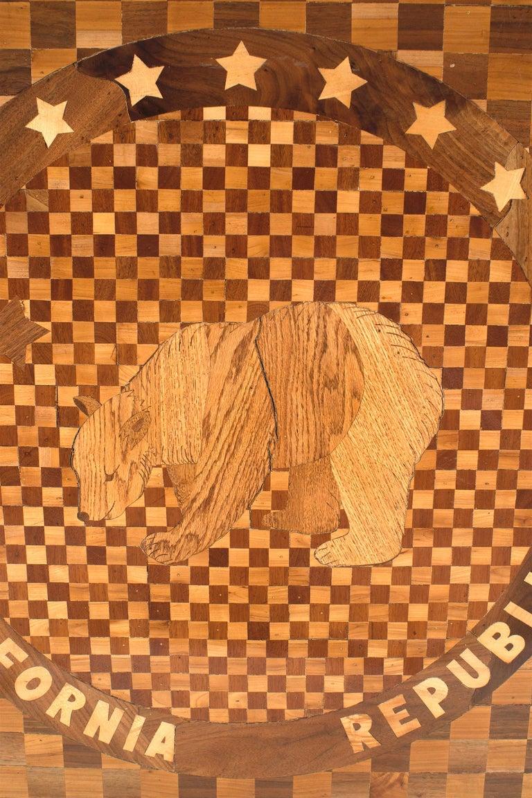 19th Century American Victorian Floor Inlay Panel For Sale