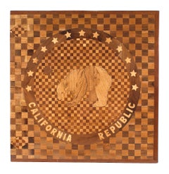 American Victorian California Capitol Seal Panel