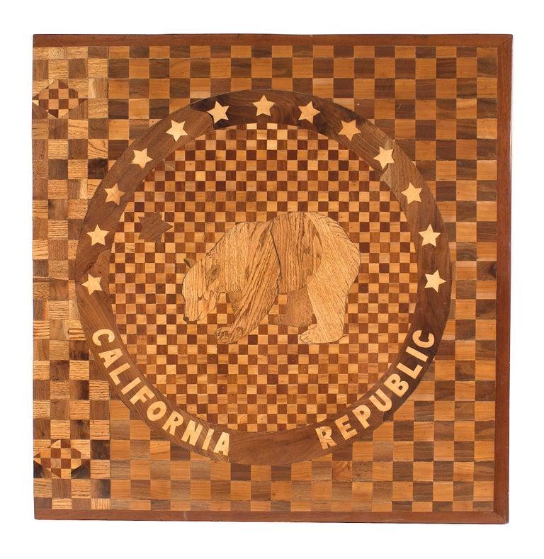 American Victorian Floor Inlay Panel For Sale