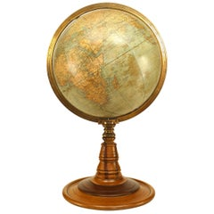 American Victorian Globe of the World, circa 1880