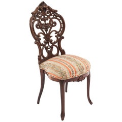 American Victorian Rosewood Side Chairs