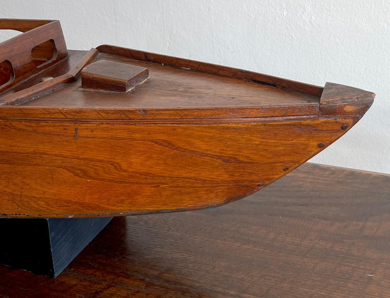 Art Deco American Vintage Model of a Speedboat 'Ricky-O' For Sale