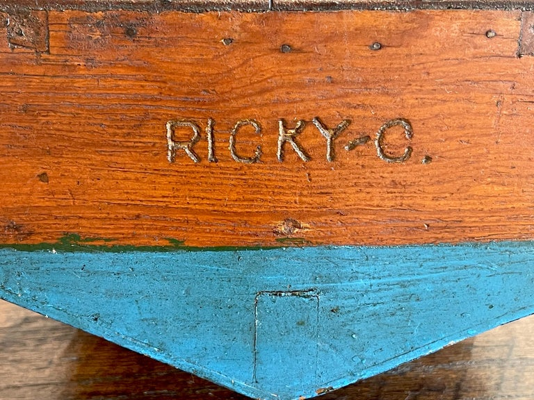 American Vintage Model of a Speedboat 'Ricky-O' For Sale 1