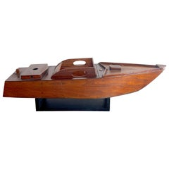 American Vintage Model of a Speedboat 'Ricky-O'