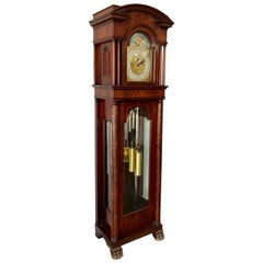 American Waltham Nine Tube Longcase Grandfather Clock