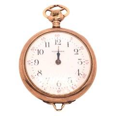 American Watch Co. Yellow Gold Waltham Pocket Watch
