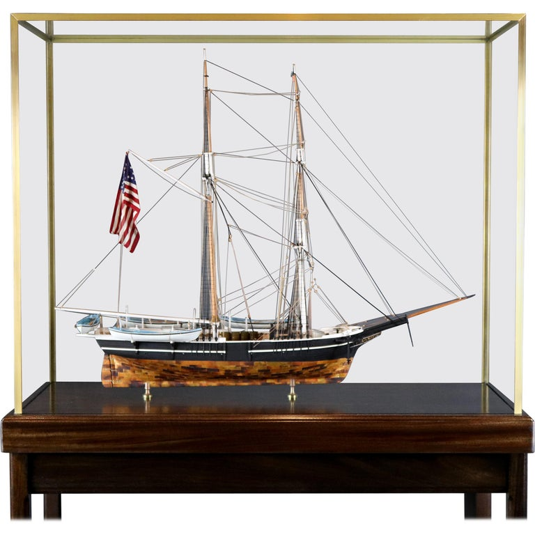 American Whaleship Kate Cory by William Hitchcock For Sale