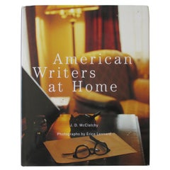 American Writers at Home Hard Cover Book