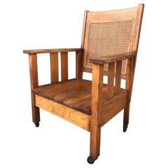 Americana Arts & Crafts Wood Chair