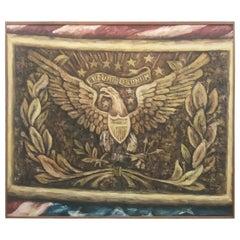 Americana Painting Bald Eagle