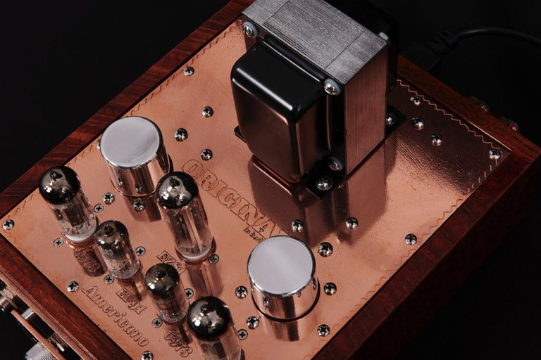 Copper Americano Single-Ended, Stereo Amp by Toolshed Amps for Original in Berlin For Sale