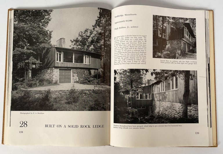 Mid-20th Century America's Best Small Houses by William J. Hennessey For Sale