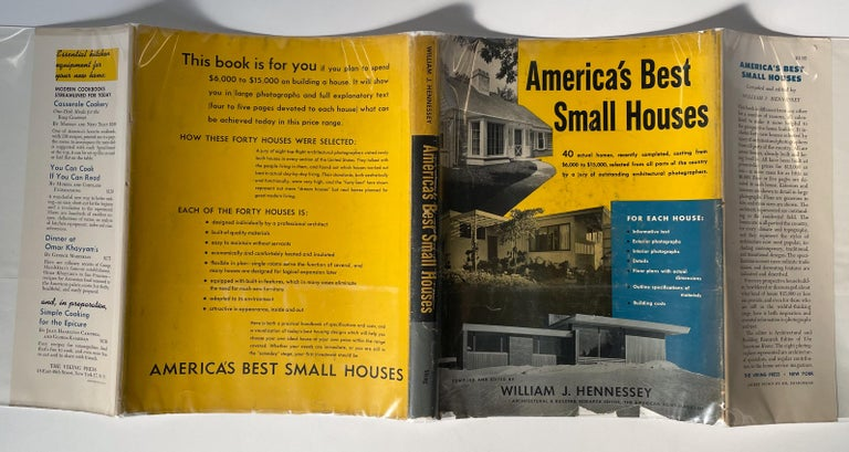 America's Best Small Houses by William J. Hennessey For Sale 2