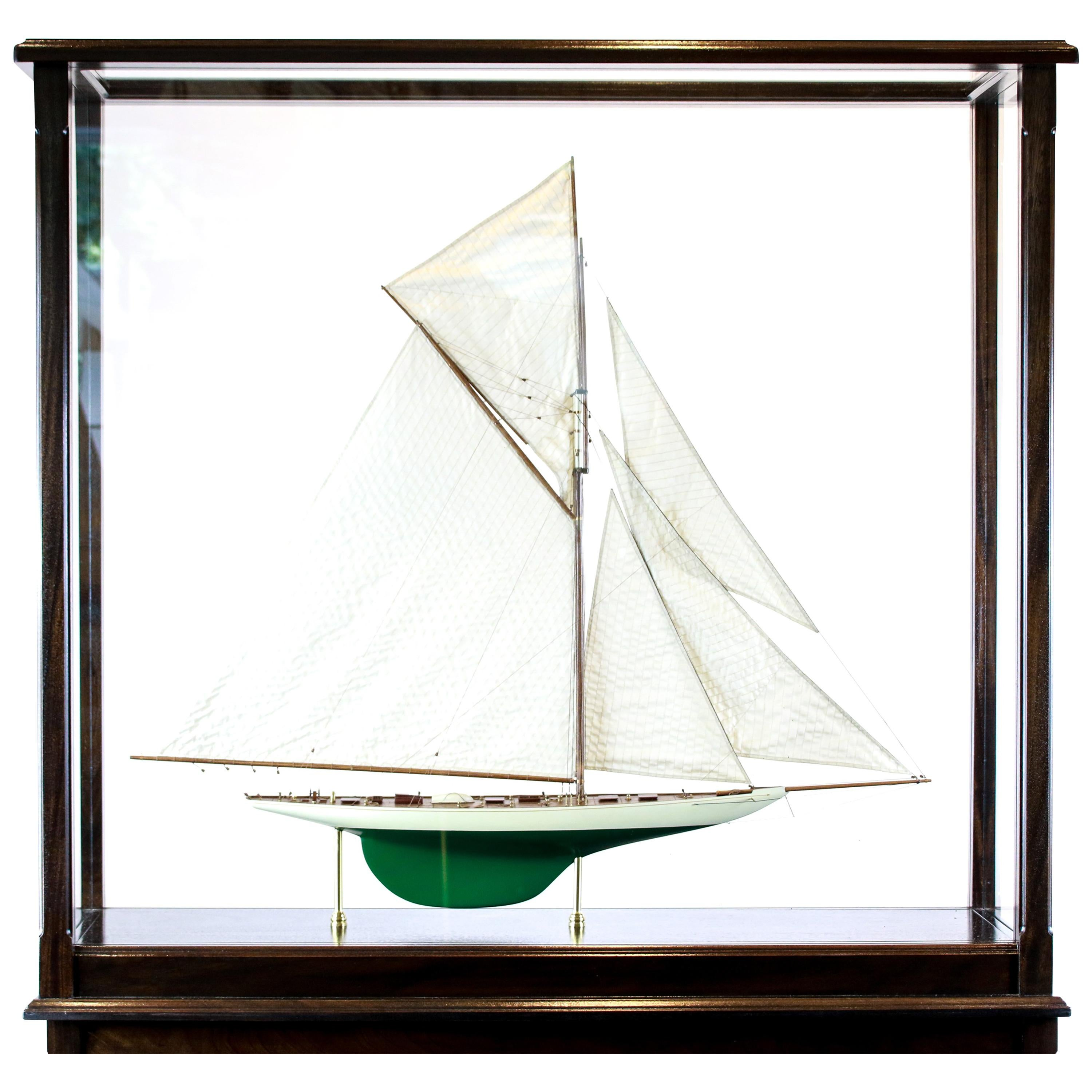 """America's Cup Yacht """"Defender"""" of 1895"""