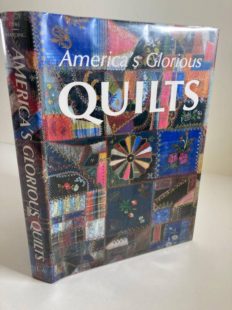 20th Century America's Glorious Quilts by Dennis Duke, Hardcover Book For Sale