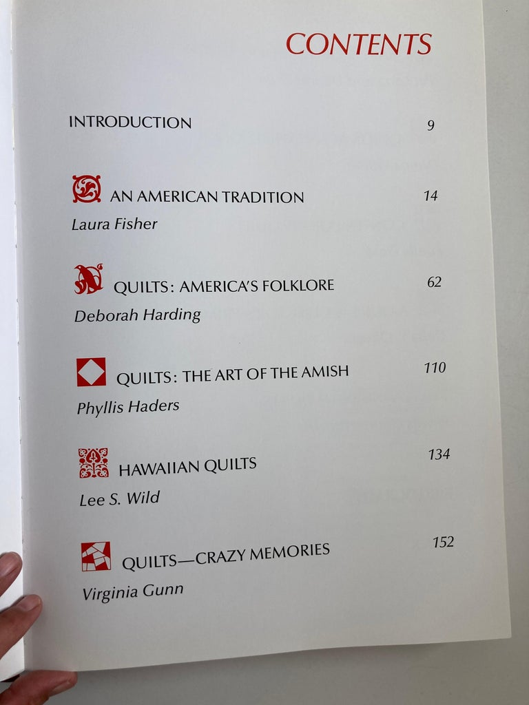America's Glorious Quilts by Dennis Duke, Hardcover Book For Sale 1