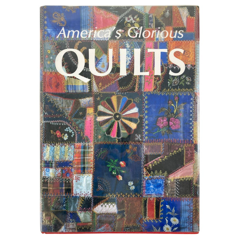America's Glorious Quilts by Dennis Duke, Hardcover Book For Sale