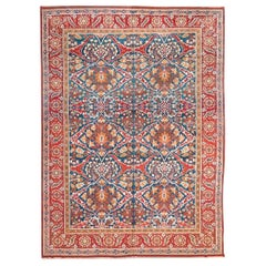 Ameritza India Wool Rug, Garrus Design, circa 1900