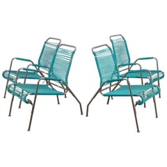 Ames Aire Set of Four Patio Chairs