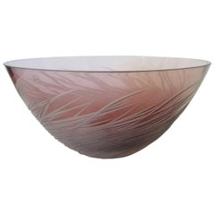 Amethyst Fruit Bowl by Salviati