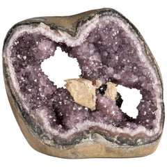 Amethyst Geode with Several Mineral Crystal Formations Inside