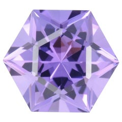 Amethyst Hexagon 9.10 Carat Brazil Star of David Gem