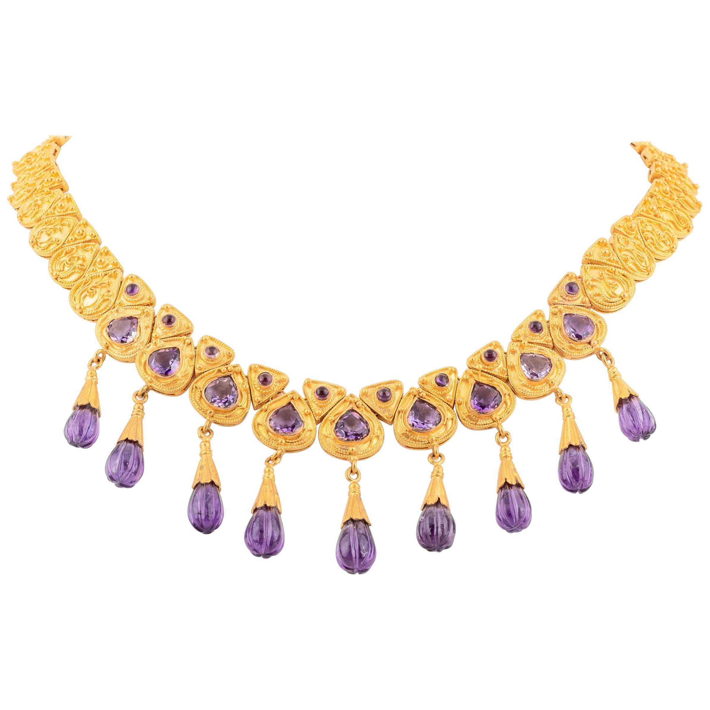 Empire Drop Necklaces