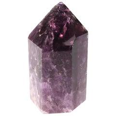 Amethyst Quartz Prism Mineral Specimen