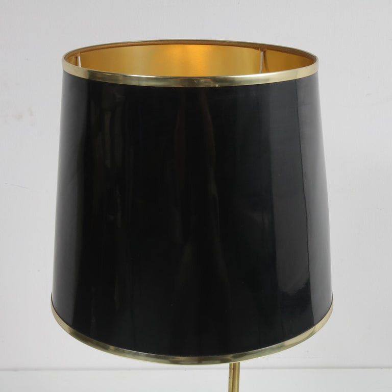 Amethyst Table Lamp in the Style of Willy Daro, 1970 For Sale 2