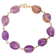 Ametrine Chunky Bracelet