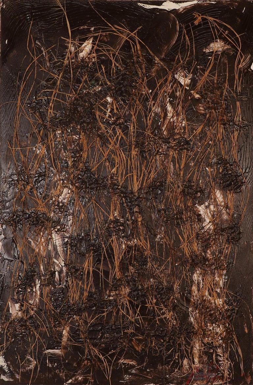 Amir Baradaran Still-Life Painting - Frantic Harmony