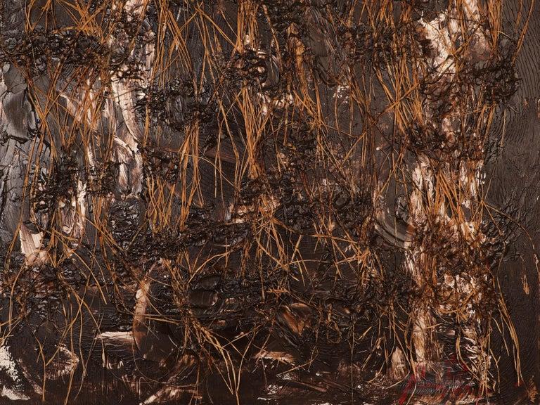 Frantic Harmony - American Impressionist Painting by Amir Baradaran