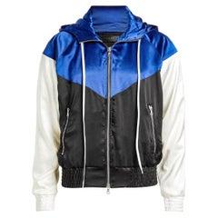 Amiri Silk Hooded Bomber Jacket