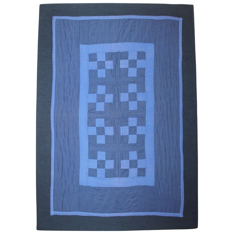 Amish Crib Quilt Mounted Postage Stamp For Sale