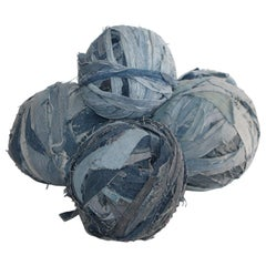 Amish Denim Large Rag Ball Collection