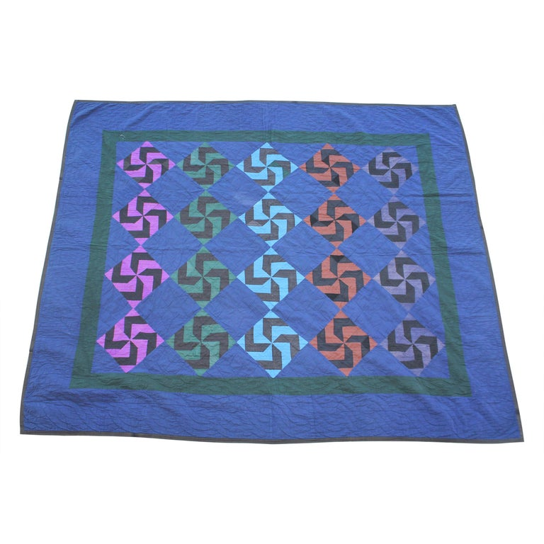 Amish Fly Foot Quilt For Sale
