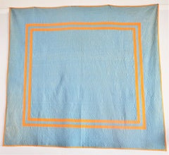Amish Plain Quilt From Ohio 1930's