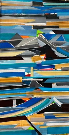 """Abstract, Acrylic on Canvas by Contemporary Indian Artist """"In Stock"""""""